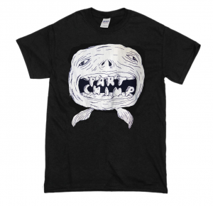Space Fish Shirt (UK including P&P)